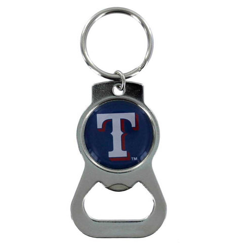 Texas Rangers Bottle Opener Key Ring