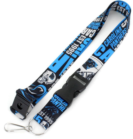 Carolina Panthers Dynamic Lanyard
