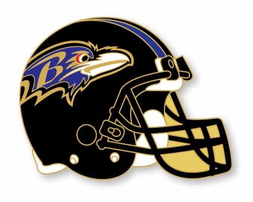 Baltimore Ravens Helmet Lapel Pin