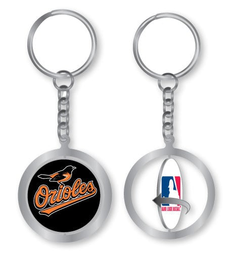 Baltimore Orioles Spinning Logo Key Chain