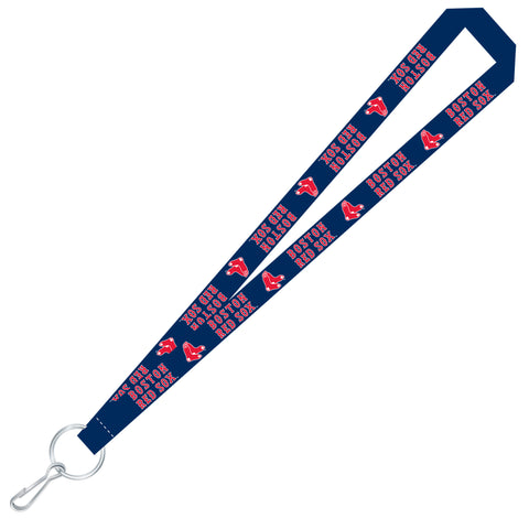 Boston Red Sox Team Color Super Soft Lanyard