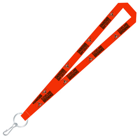 Cleveland Browns Team Color Super Soft Lanyard