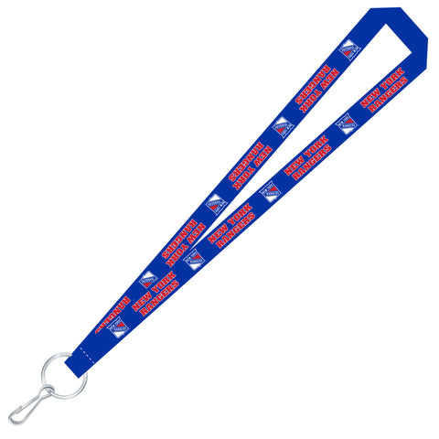 New York Rangers Team Color Super Soft Lanyard