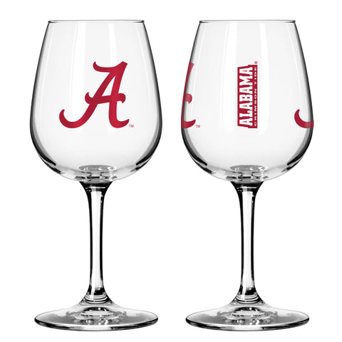 Alabama Crimson Tide 12oz. Gameday Wine Glass