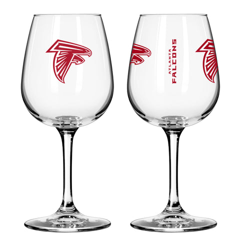 Atlanta Falcons 12oz. Gameday Wine Glass