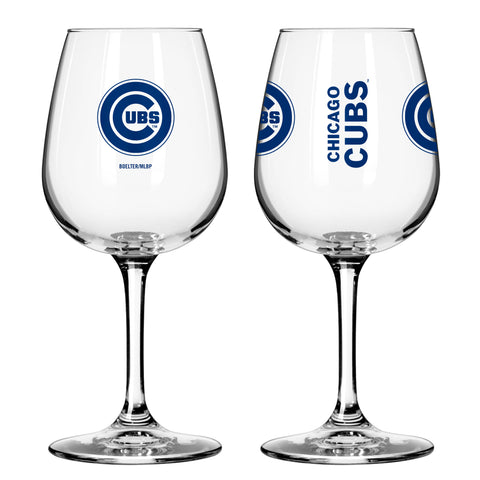 Chicago Cubs 12oz. Gameday Wine Glass