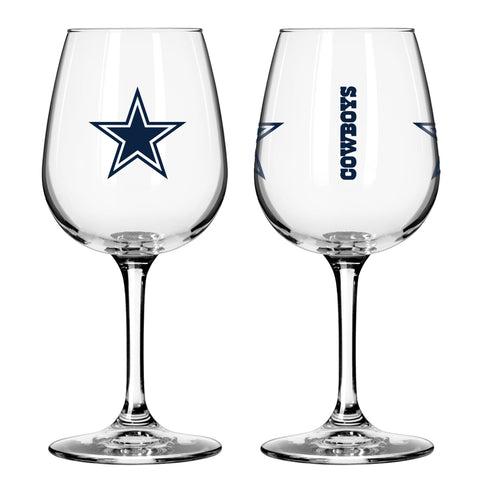 Dallas Cowboys 12oz. Gameday Wine Glass