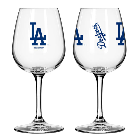 Los Angeles Dodgers 12oz. Gameday Wine Glass
