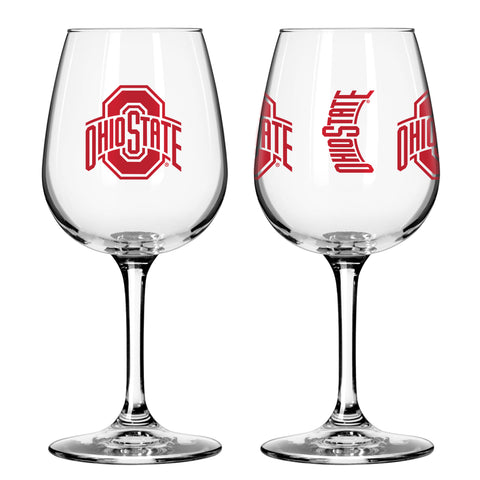 Ohio State Buckeyes 12oz. Gameday Wine Glass