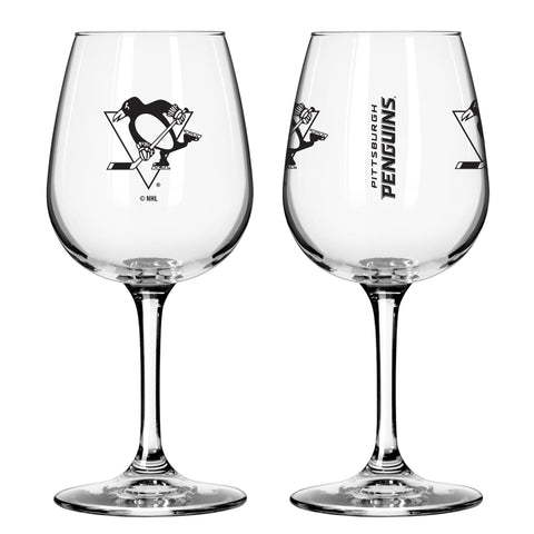 Pittsburgh Penguins 12oz. Gameday Wine Glass