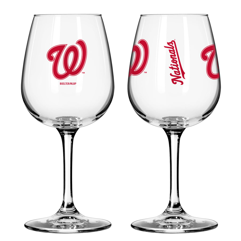 Washington Nationals 12oz. Gameday Wine Glass