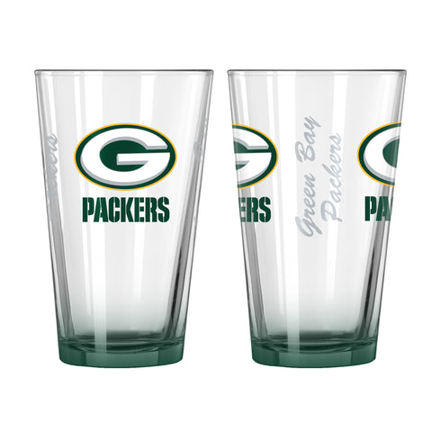 Green Bay Packers 16oz Elite Pint Glass