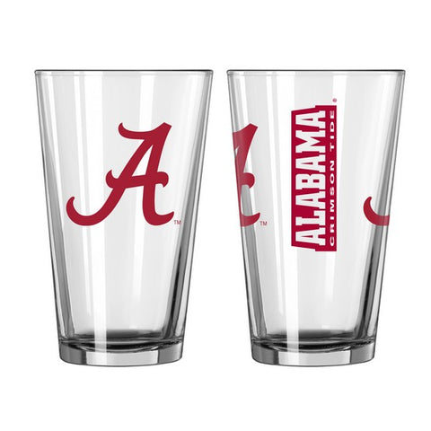 Alabama Crimson Tide 16oz. Gameday Pint Glass