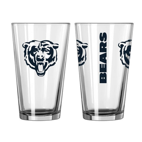 Chicago Bears 16oz. Gameday Pint Glass