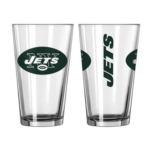 New York Jets 16oz. Gameday Pint Glass