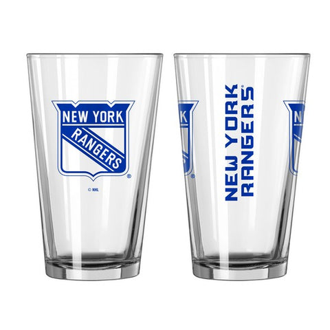 New York Rangers 16oz. Gameday Pint Glass