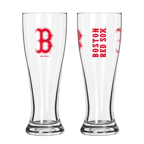Boston Red Sox 16oz. Gameday Pilsner Glass
