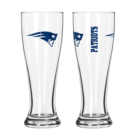 New England Patriots 16oz. Gameday Pilsner Glass