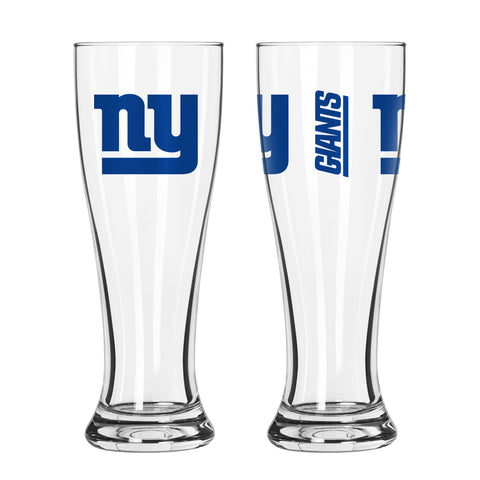 New York Giants 16oz. Gameday Pilsner Glass