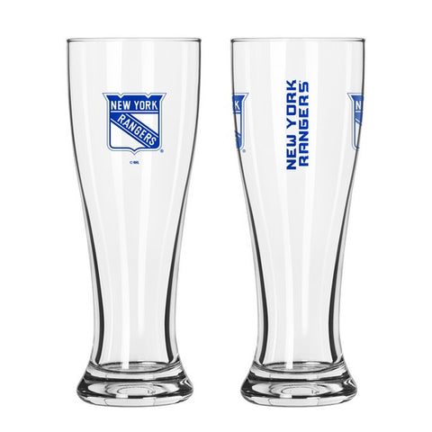 New York Rangers 16oz. Gameday Pilsner Glass