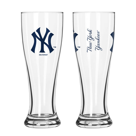 New York Yankees 16oz. Gameday Pilsner Glass