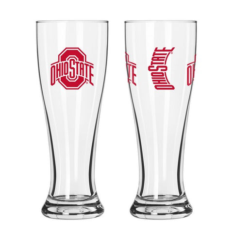 Ohio State Buckeyes 16oz. Gameday Pilsner Glass