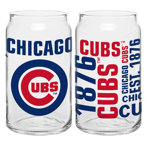 Chicago Cubs 16oz. Spirit Glass Can