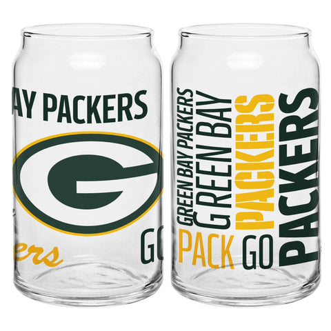 Green Bay Packers 16oz. Spirit Glass Can