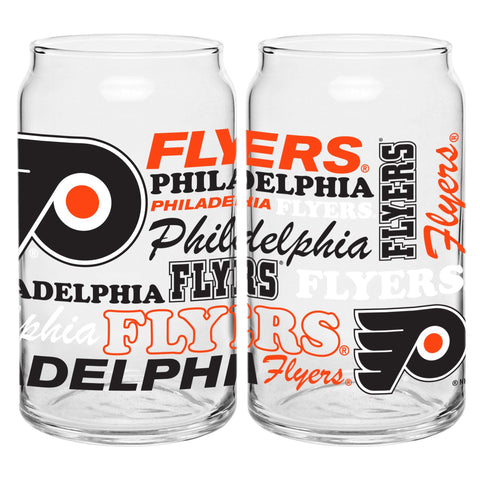 Philadelphia Flyers 16oz. Spirit Glass Can