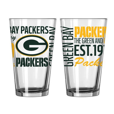 Green Bay Packers 16oz. Spirit Pint Glass