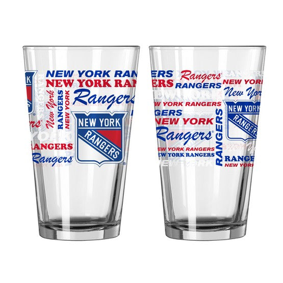 New York Rangers 16oz. Spirit Pint Glass