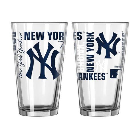 New York Yankees 16oz. Spirit Pint Glass