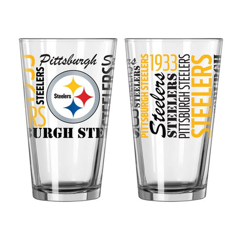 Pittsburgh Steelers 16oz. Spirit Pint Glass