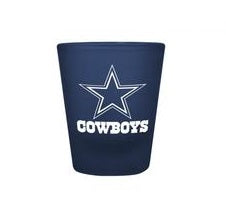 Dallas Cowboys 2oz. Color Frosted Shot Glass