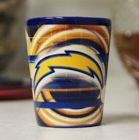 Los Angeles Chargers 2oz. Ceramic Shot Glass