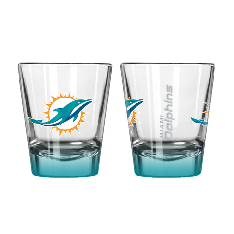 Miami Dolphins 2oz Elite Shot Glass