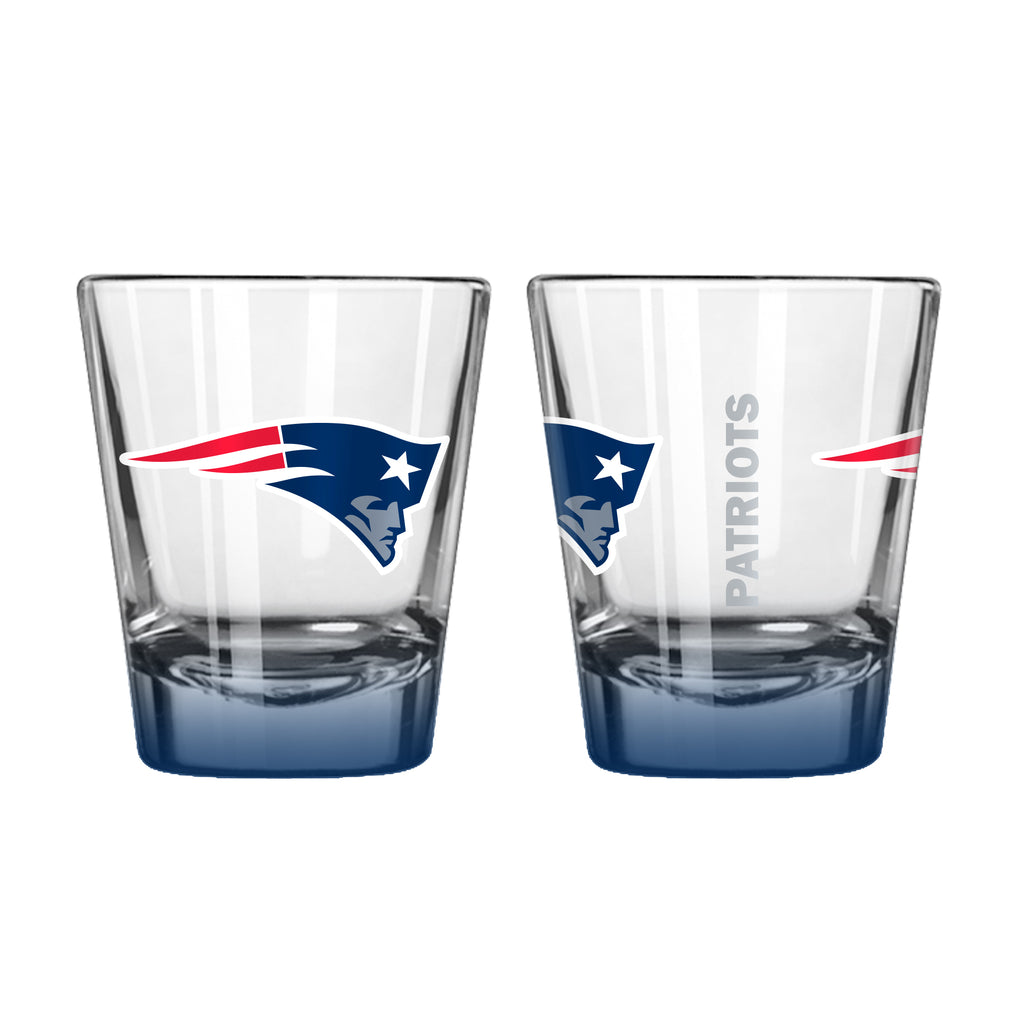 New England Patriots 2oz Elite Shot Glass