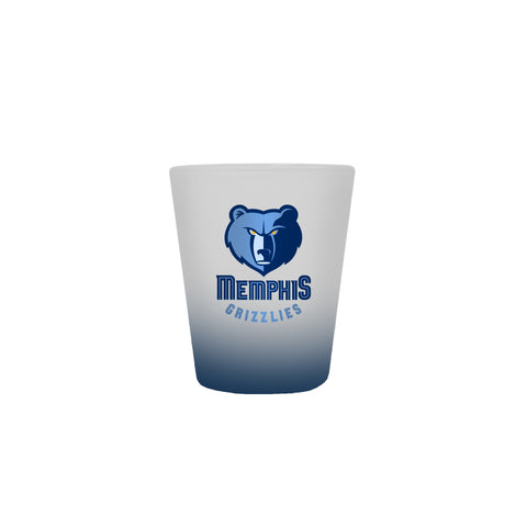 Memphis Grizzlies 2oz. Frosted Shot Glass