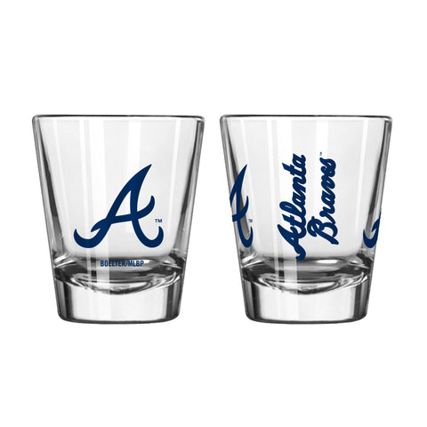 Atlanta Braves 2oz. Gameday Shot Glass