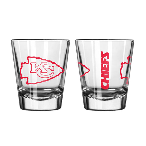 Kansas City Chiefs 2oz. Gameday Shot Glass