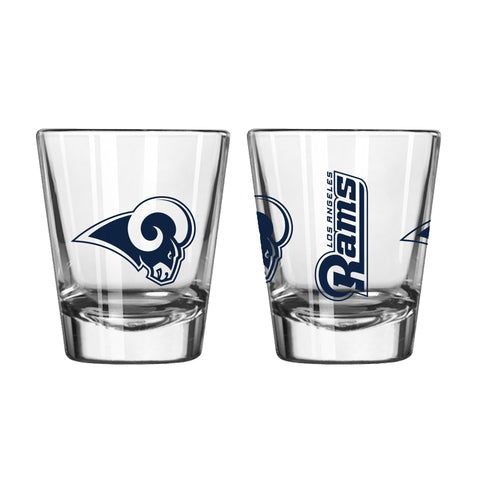 Los Angeles Rams 2oz. Gameday Shot Glass