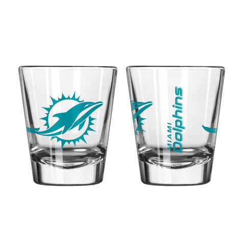 Miami Dolphins 2oz. Gameday Shot Glass