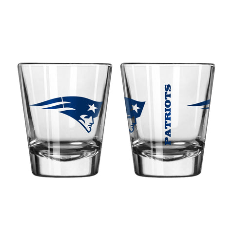 New England Patriots 2oz. Gameday Shot Glass
