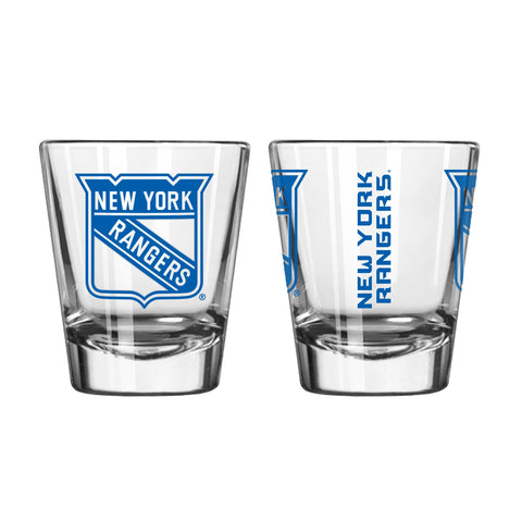 New York Rangers 2oz. Gameday Shot Glass