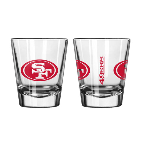 San Francisco 49ers 2oz. Gameday Shot Glass