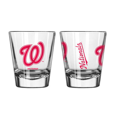 Washington Nationals 2oz. Gameday Shot Glass