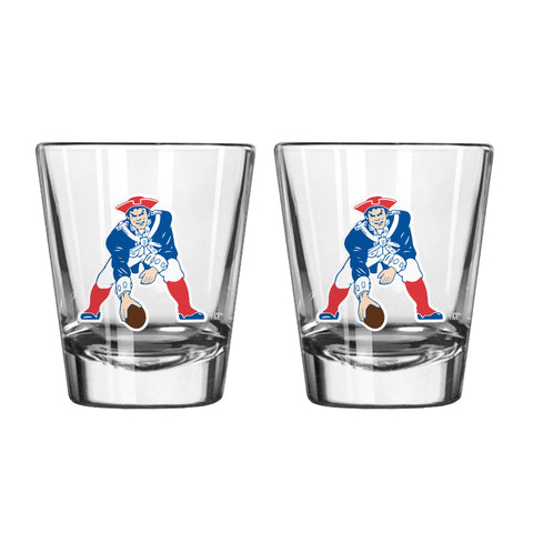 New England Patriots 2oz. Retro Shot Glass