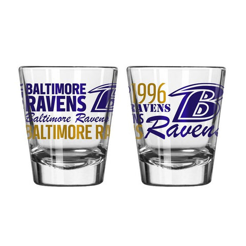 Baltimore Ravens 2oz. Spirit Shot Glass