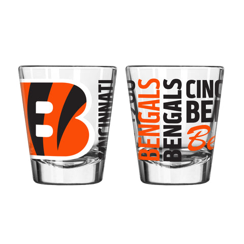 Cincinnati Bengals 2oz. Spirit Shot Glass