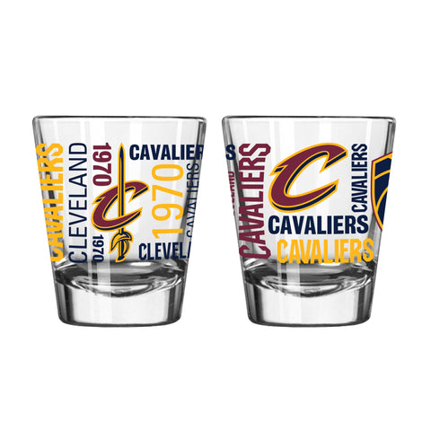 Cleveland Cavaliers 2oz. Spirit Shot Glass